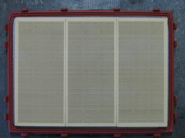 Brennwerttechnik mit Schwank Keramikplatten.